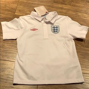 Youth Umbro England jersey top